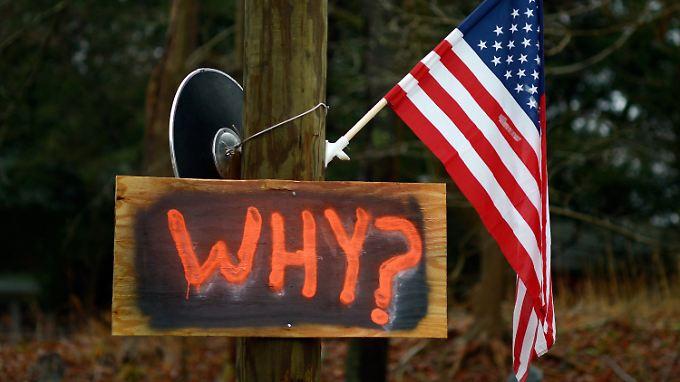 """Amoklauf in Newtown: Waffenlobby ist """"schockiert"""""""
