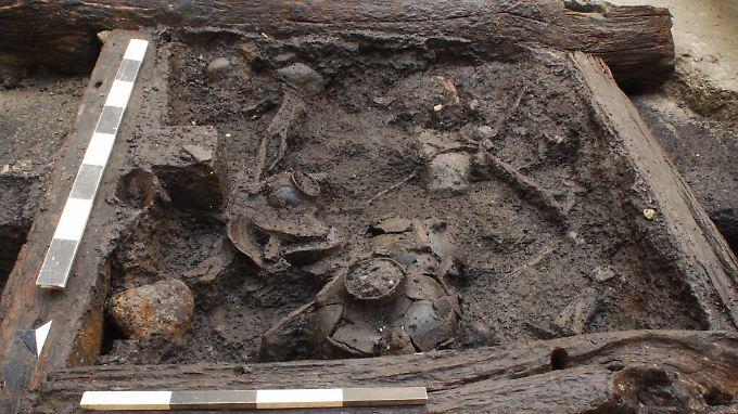 Dank der Jahresringe im Holz konnte der aus Eichenholz gebaute Brunnen auf die Jahre 5206 und 5098 v. Chr. datiert werden.