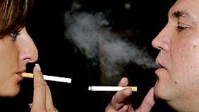Jede Zigarette ist ein Gesundheitsrisiko.