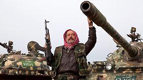 In Syrien wird weiterhin um die Macht gekämpft.