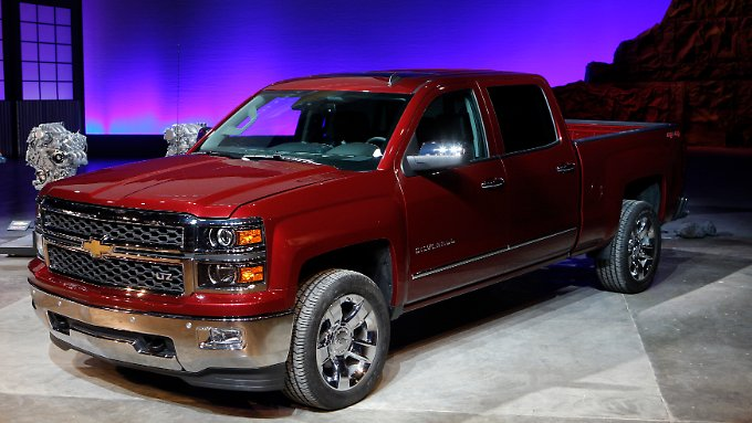 "Chevrolet Silverado: ""Big is beautiful"" heißt es w"
