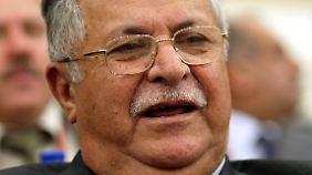 Talabani hat schön länger gesundheitliche Probleme.