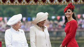Mit einem Schiffskorso über die Themse feierte Queen Elizabeth II. den Höhepunkt ihres Thronjubiläums.