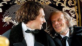 Der Kini und der von ihm so verehrte Richard Wagner.