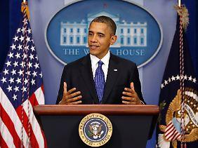 Barack Obama will die USA nicht von der Fiskalklippe stürzen lassen.