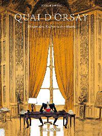 """""""Quai d'Orsay"""" ist bei Reprodukt erschienen. Die gebundene Ausgabe im Großformat hat 200 Seiten und kostet 36 Euro (D)."""