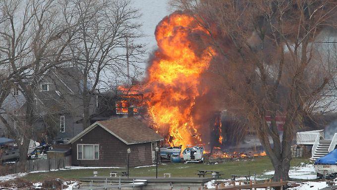 Die Morde ereigneten sich in einem Vorort von Rochester am Ontario-See.