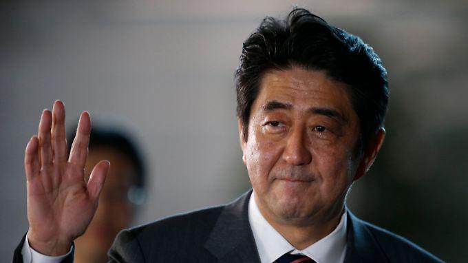 Shinzo Abe war bereits 2006 und 2007 Ministerpräsident in Japan.