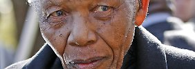 Nationalheld Nelson Mandela.