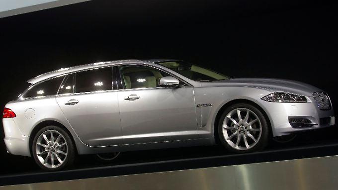 Der Sportbrake ist momentan der einzige Kombi von Jaguar.