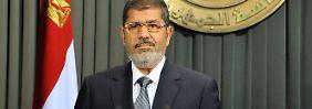 Mohammed Mursi befindet sich auf dem Höhepunkt seiner Macht.