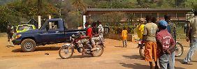 Von Frankreich und den USA kann die Regierung in Bangui offenbar keine Hilfe erwarten.