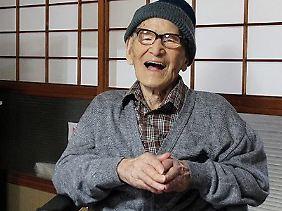 Kimura hat ein Geheimrezept: keine Völlerei.