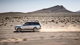 Der Range Rover gilt als Vorreiter aller heutigen SUV.