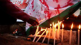 In Indien gibt es angeblich 100.000 unerledigte Vergewaltigungsfälle.