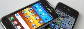 Apple und Samsung: Teilfrieden im Smartphone-Krieg.