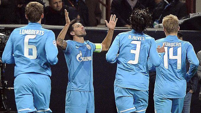 Zenit St. Petersburg soll auch künftig in der russischen Liga jubeln.