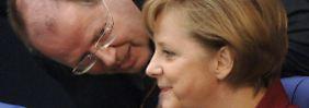 """Geld macht """"keine erotischen Gefühle"""": Steinbrück will mehr Gehalt"""