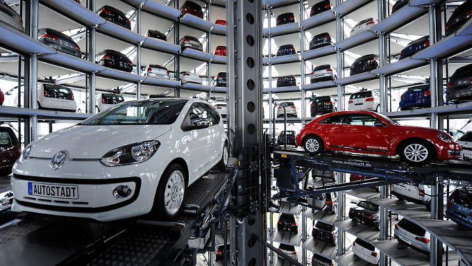 Volkswagen hat einen größeren Börsenwert als Siemens.