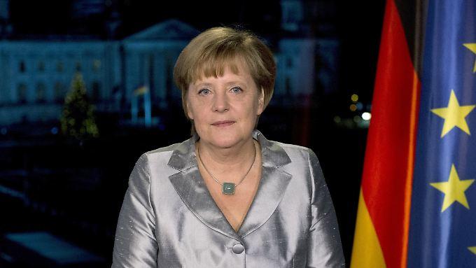 """Angela Merkels Neujahrsansprache: """"Brauchen weiterhin viel Geduld"""""""