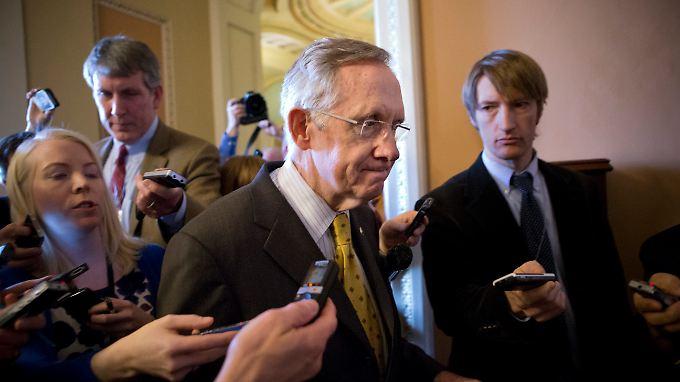 Der Demokrat Harry Reid hat für den Silvester-Tag eine Kongress-Sitzung einberufen.
