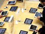 Flammen schießen aus Lightning-Port: iPad explodiert bei Vodafone