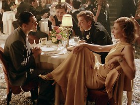 "Leonardo DiCaprio, Adam Scott, Jude Law und Cate Blanchett in ""The Aviator""."