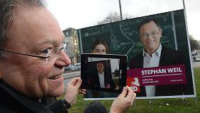 Stephan Weil will niedersächsischer Ministerpräsident werden.