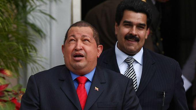 Noch hält sich Maduro zurück. Aber er steht für eine Chavez-Nachfolge bereit.