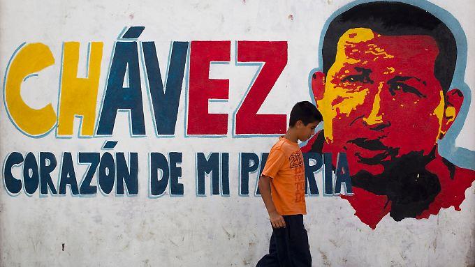 In den Straßen von Caracas.