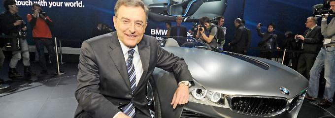 BMW-Chef Norbert Reithofer will künftig stärker auf Profitabilität achten.