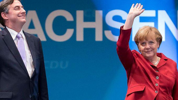 McAllister und Merkel: Die beiden werden so oder so verbunden bleiben.