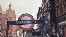 """Londoner """"Tube"""" fährt seit 1863: Die älteste U-Bahn der Welt"""