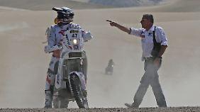 Zweite Etappe wird zur Irrfahrt: Dakar-Piloten verlieren Überblick