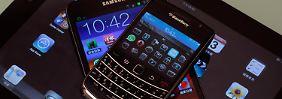 Smartphones werden schlauer: Sensoren halten Einzug