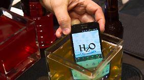 Spielereien aus Las Vegas: Smartphone geht auf Tauchstation