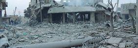 Es gibt ganze Regionen in Syrien, die bereits unbewohnbar sind.