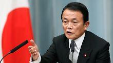 """""""Richtige Absichten"""": Japanischer Minister verharmlost Hitler"""