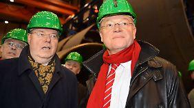 Peer Steinbrück wünscht sich Rückenwind durch einen SPD-Wahlsieg in Niedersachsen.