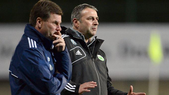 Sie sollen es richten: Trainer Dieter Hecking und Manager Klaus Allofs.