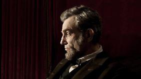 """Daniel Day-Lewis könnte für seine Darstellung von """"Lincoln"""" seinen dritten Oscar einheimsen."""