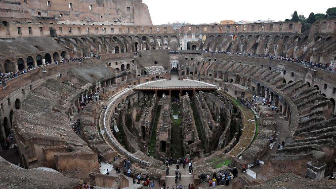 Das Kolosseum in Rom gehört zu den am meisten besuchten Sehenswürdigkeiten der Welt.