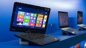 """""""Convertibles"""" schließen die Lücke zwischen Notebook und Tablet."""