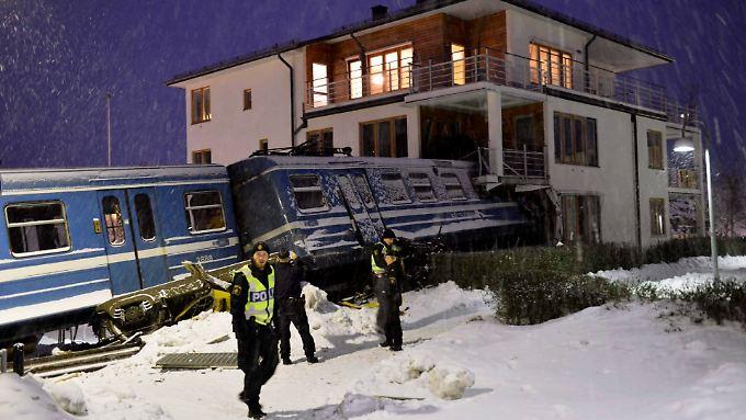Die Hintergründe des merkwürdigen Unfall sind noch unklar.