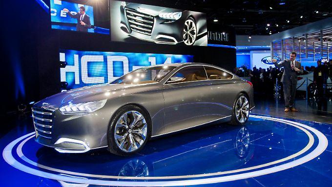 Mit der Studie HCD-14 gibt Hyundai nicht nur einen Ausblick auf die zukünftige Designsprache in den USA.