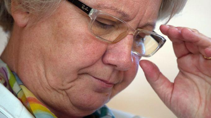 Ausgerechnet Forschungsministerin Annette Schavan soll bei ihrer Doktorarbeit geschummelt haben.