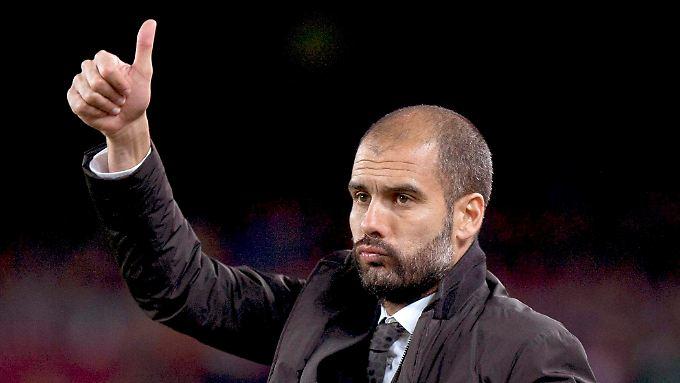 Ein klares Zeichen: Guardiola wird Bayern-Trainer.