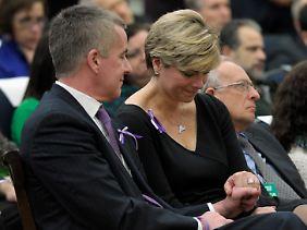 Das Ehepaar McDonnell verlor in Newtown seine Tochter Grace.