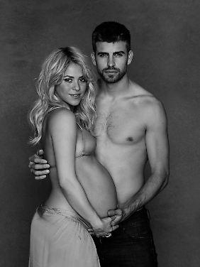 Shakira und Gerard Piqué wollen mit der Aktion Geld für Unicef sammeln.