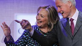 Hillary und Bill Clinton sind seit über 30 Jahren verheiratet.